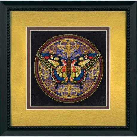Набор для вышивания Dimensions 65095 Ornate Butterfly фото