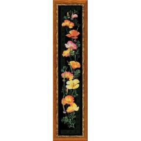 Набор для вышивки крестом Риолис 100/012 Калифорнийский мак фото