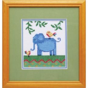Набор для вышивки крестом Повитруля П1 006 Африка.Слон фото