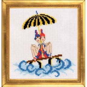 Набор для вышивки крестом Повитруля П2 005 Морячки фото