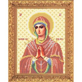 Набор для вышивки бисером Повитруля НБ3 04 Божия Матерь
