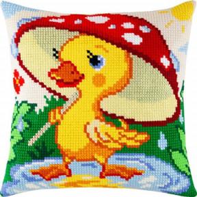 Набор для вышивки подушки Чарівниця Z-11 Утёнок фото