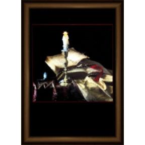 Набор для изготовления картины со стразами Чарівна Мить КС-094