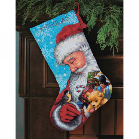 Набор для вышивки Dimensions 71-09145 Santa and Toys Stocking