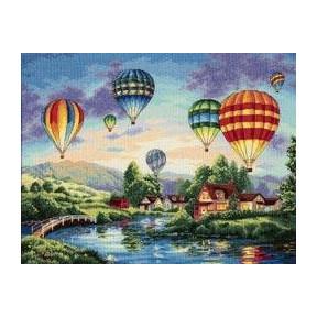 Набор для вышивки крестом Dimensions 35213 Balloon Glow