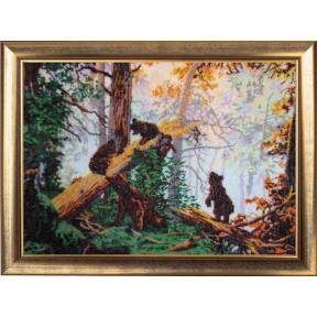 Набор для вышивания бисером Butterfly 594 Утро в сосновом лесу