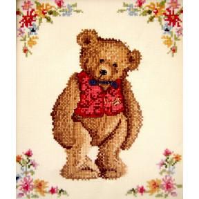 Набор для вышивания крестом Classic Design 4349 Мистер Тедди