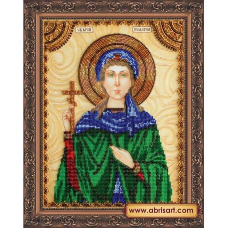 Набор для вышивания бисером иконы Абрис Арт АА-080 Святая