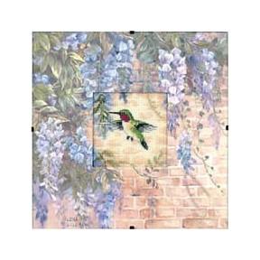 Набор для вышивки Dimensions 73070 Hummingbird and Wisteria фото