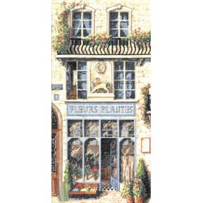 Набор для вышивания крестом Classic Design Цветочный магазин 4332