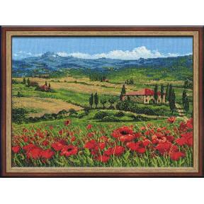 Набор для вышивки крестом Риолис 100/001 Тоскана фото