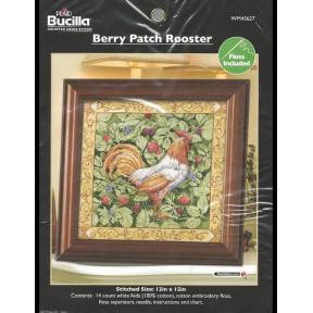 Набор для вышивания Bucilla 45627 Berry Patch Rooster фото