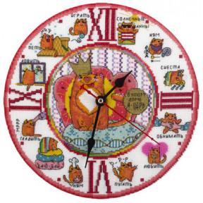 Набор для вышивки крестом Panna Ч-1582 Кот в доме хозяин фото