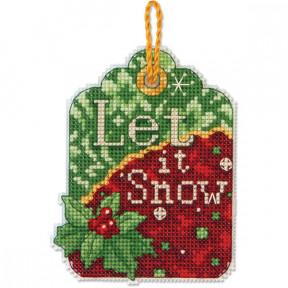 Набор для вышивания Dimensions 70-08889 Let in Snow Ornament