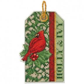 Набор для вышивания Dimensions 70-08888 Holly & Ivy Ornament