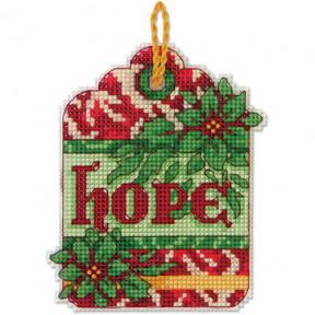 Набор для вышивания Dimensions 70-08887 Hope Ornament фото