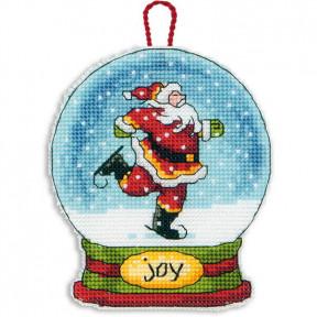 Набор для вышивания Dimensions 70-08905 Joy Snowglobe Ornamen