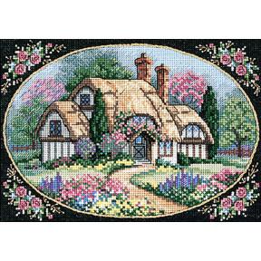 Набор для вышивания крестом Classic Design 4354 Милый дом фото