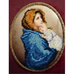 Набор для вышивания бисером КиТ 50815 Мадонна с ребенком фото