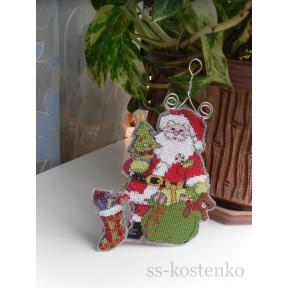 Набор для вышивания Dimensions 73416 Santa's Here! фото