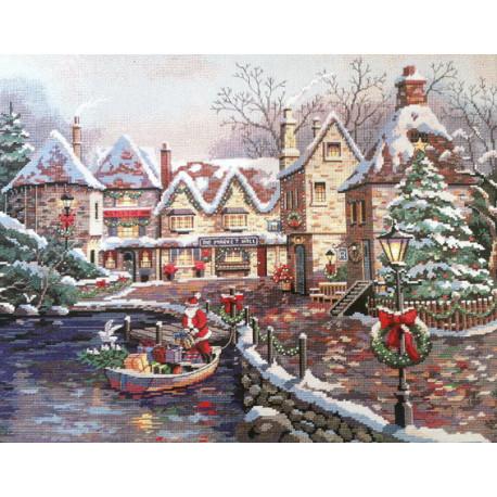 Набор для вышивания крестом Classic Design Рождественская бухта