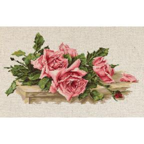 Набор для вышивки Luca-S BL22400 Розовые розы